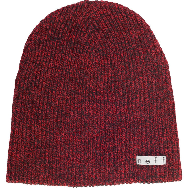 Neff Daily Heather Beanie - Black/Red