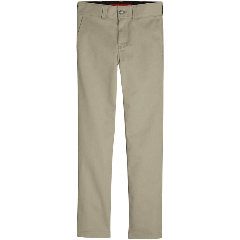 Dickies 67' Boys Slim Fit Flex Pants - Khaki(Desert Sand)