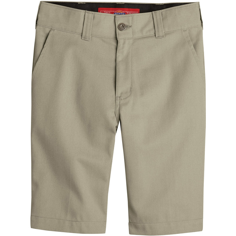Dickies 67' Boys Slim Fit Flex Shorts - Khaki (Desert Sand)