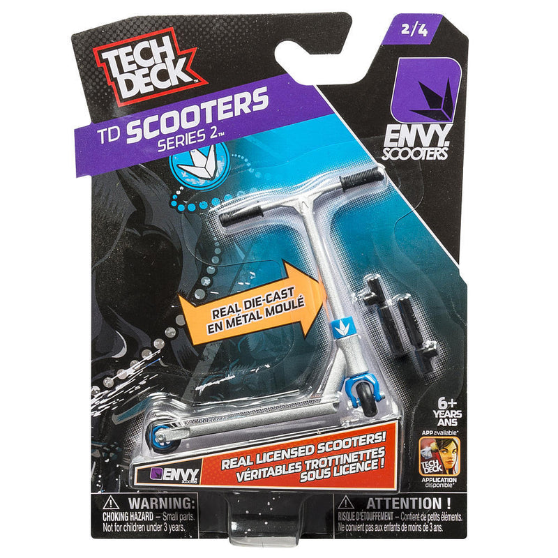 Tech Deck Finger Scooter Series 2 Envy Silver - 2/4