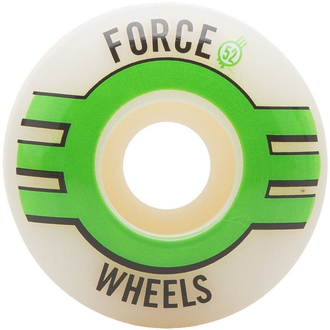 Force 2017 Strike Green/White Skateboard Wheels