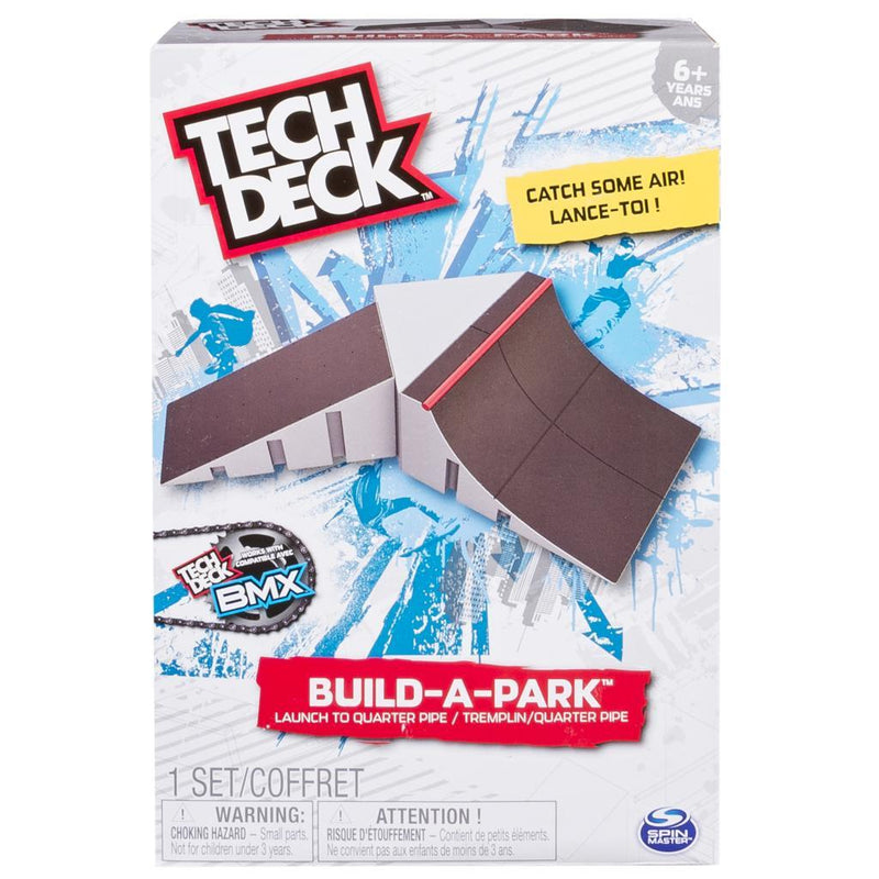 Tech Deck Fingerboard Build A Ramp - Launch Ramp to Quarter Pipe
