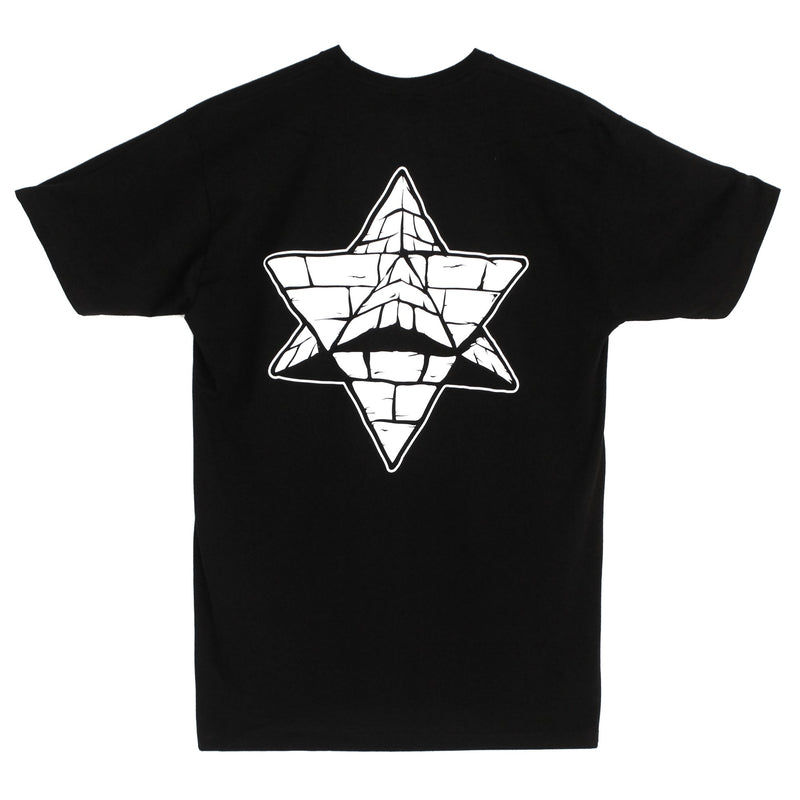 Black 2012 GloGlo Pyramid Country T-shirt Back