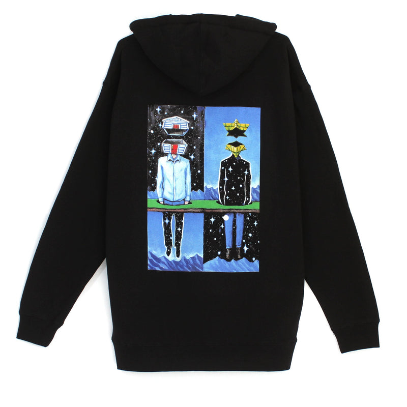As Above So Below Pyramid Country Pullover Hoodie Back