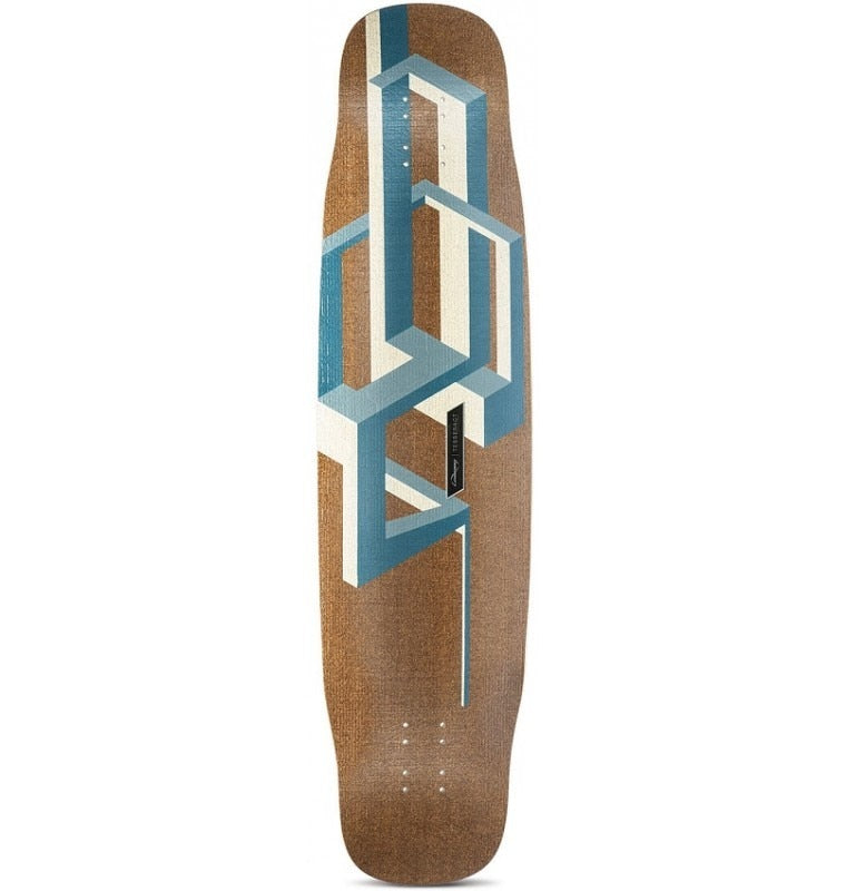 Loaded Basalt Tesseract Longboard Deck - Dark Blue