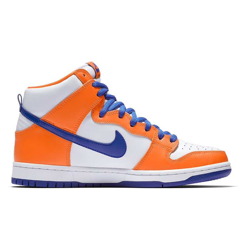 Nike SB X Danny Supa Dunk High Traditional QS - Safety Orange/Hyper Blue/White