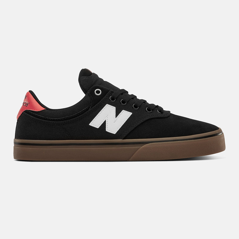 Black/White NM255BPB NB Numeric Skateboard Shoe