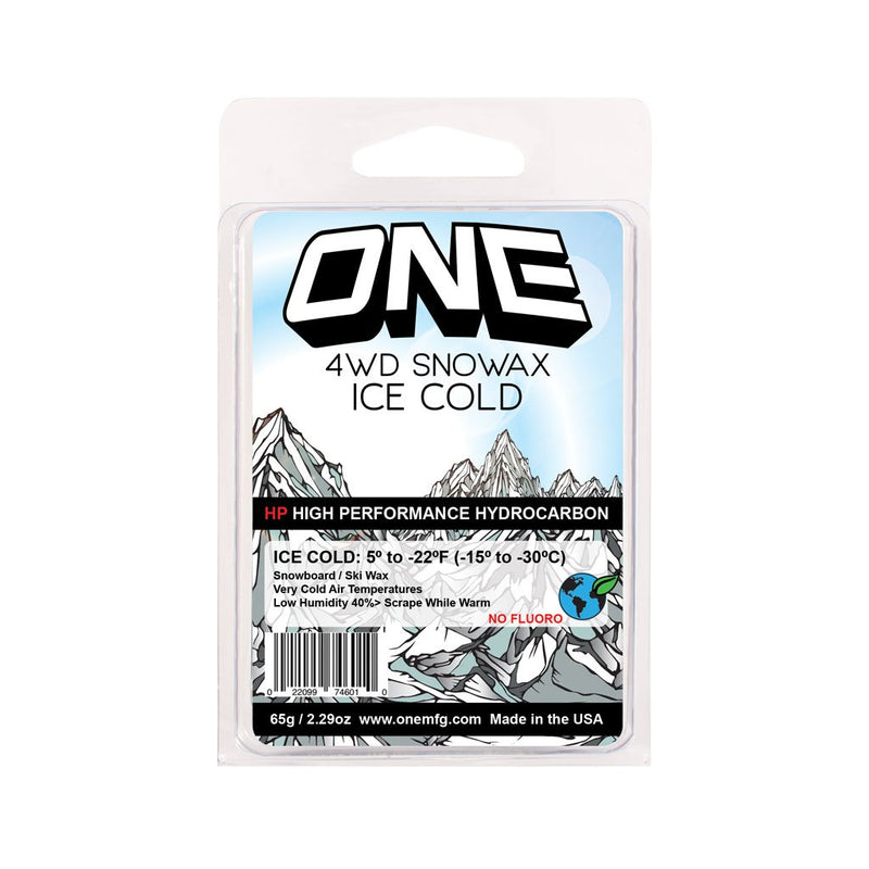 Oneball 4wd Ice Cold Snowboard Wax Mini