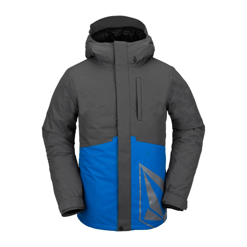 Men's Cyan Blue 17forty Volcom Insulated Snowboard Jacket