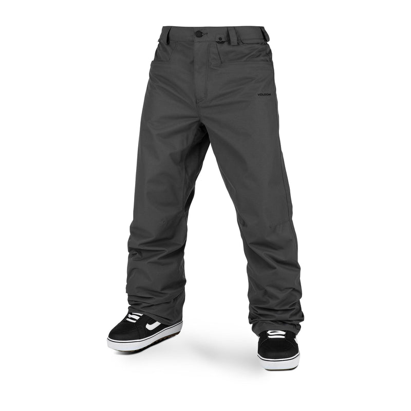 Dark Grey Carbon Volcom Snowboard Pants