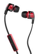 Skullcandy Smokin Buds 2 With Mic - Black/Red