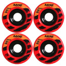 Rayne 80A Red Envy Longboard Wheels