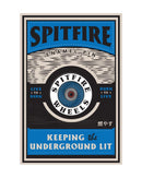 Spitfire OG Circle Enamel Lapel Pin Blue
