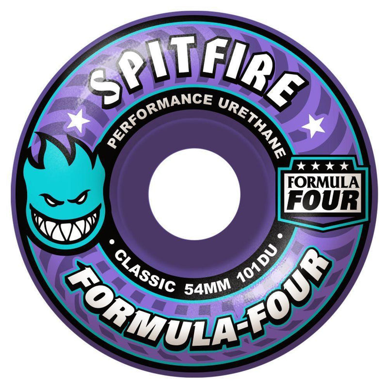 Spitfire Formula Four 101D Classic Purple Skateboard Wheels