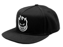 Spitfire Bighead Snap Back - Black/White