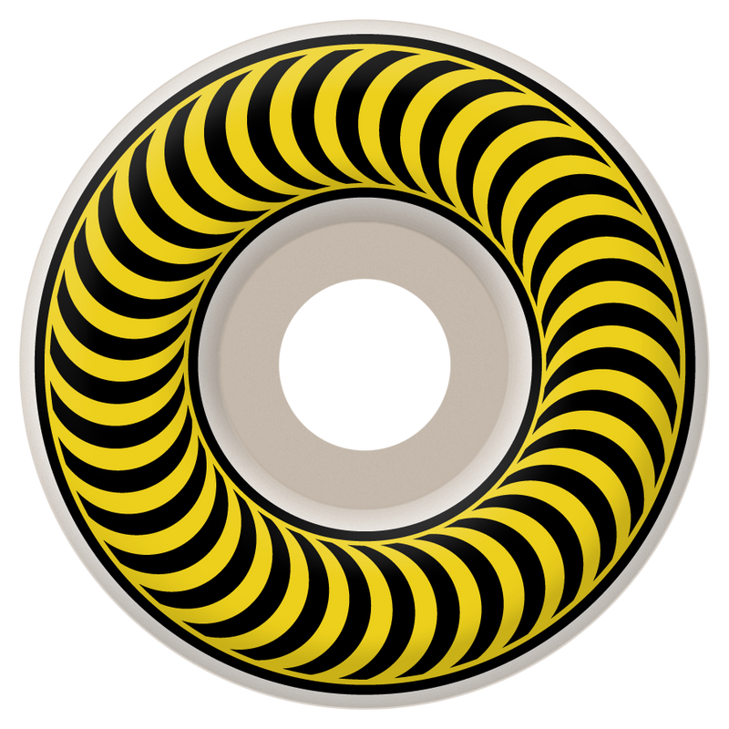 Spitfire Yellow Classic Skateboard Wheels - 55