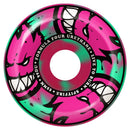 Spitfire Formula Four 99D Afterburners Pink/Mint Swirl Conical Full Skateboard Wheels
