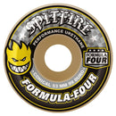 Spitfire Formula Four Conical White/Yellow 99D Skateboard Wheels