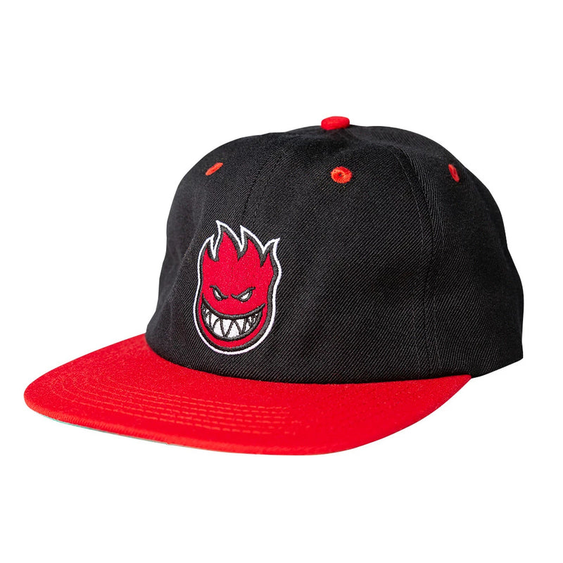 Black/Red Bighead Fill Spitfire Wheels Strapback