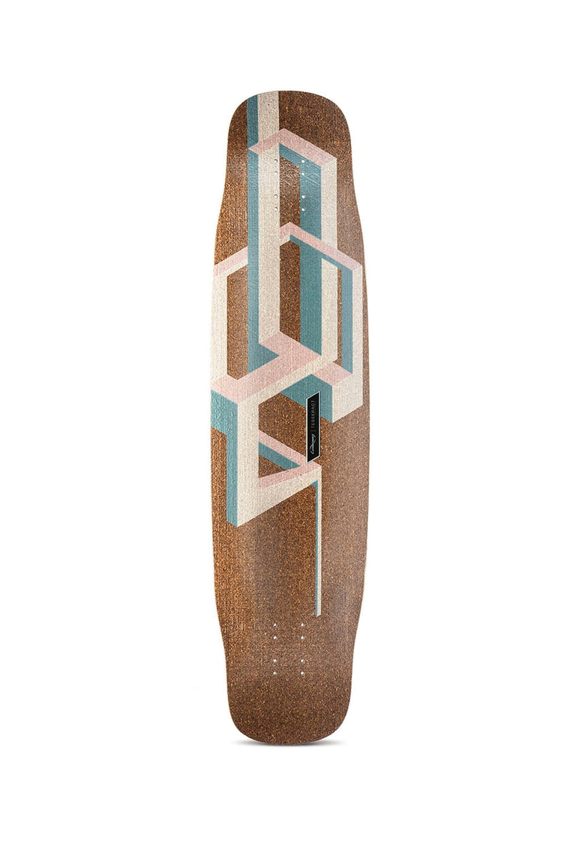 Loaded Basalt Tesseract Longboard Deck - Pink