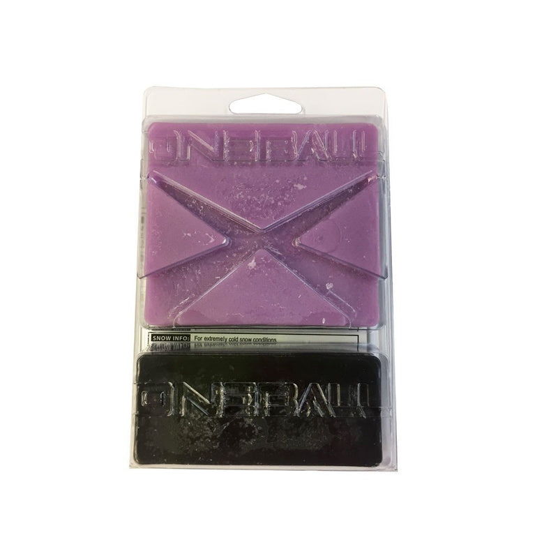 Oneball X-Wax Cold Snowboard Wax Back