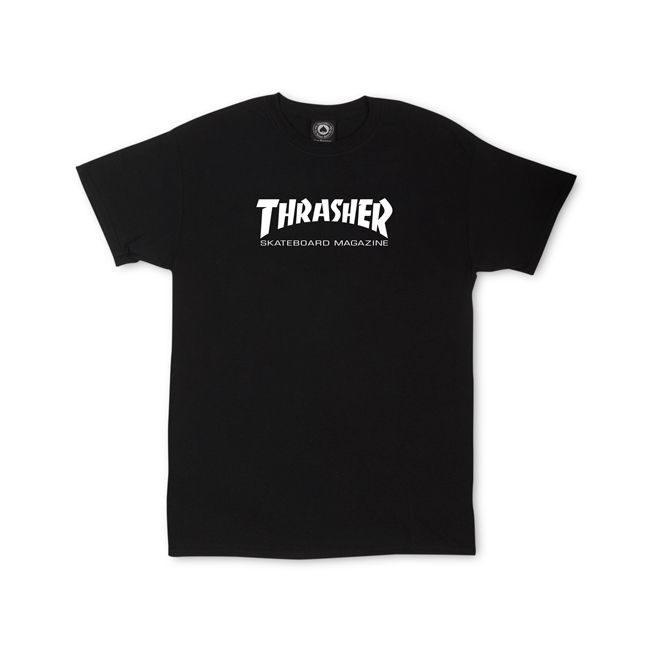 Thrasher Youth Skate Mag Tee - Black