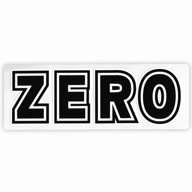 Zero Clear Bold Sticker