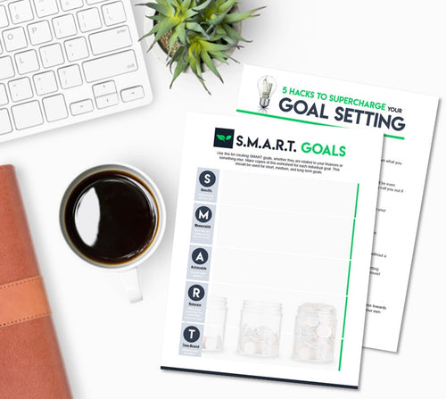S.M.A.R.T. Goals Worksheet + Tips