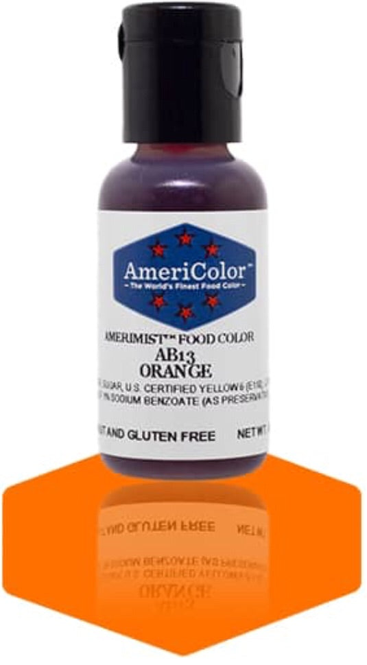 AB13-Orange Americolor Amerimist Food Color