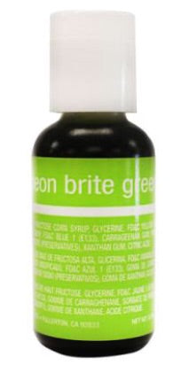 Neon Brite Green Chefmaster Liqua gel Food Coloring