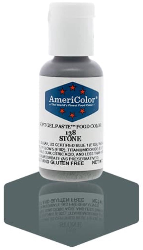 138-Stone Americolor Softgel Food Color