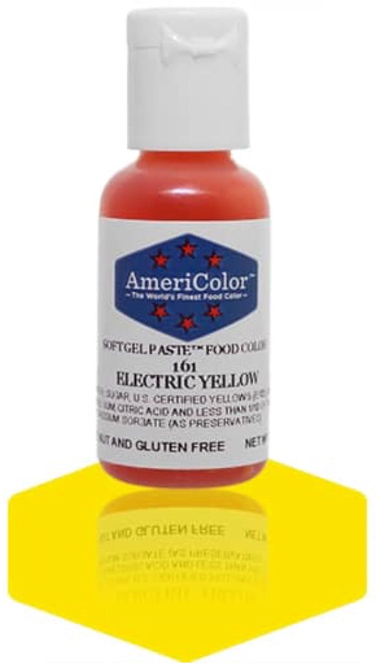 161-Electric Yellow Americolor Food Color
