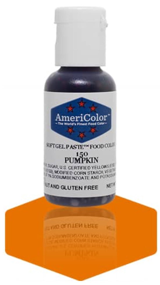 150-Pumpkin Americolor Softgel Food Color