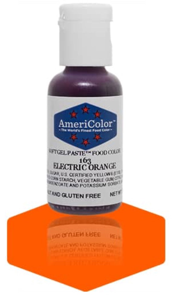 163-Electric Orange Americolor Softgel Food Color
