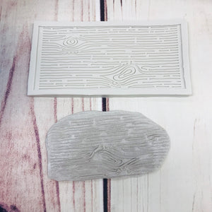 Wood Grain Silicone Mold