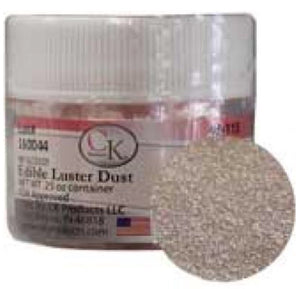 Shiny silver Edible Luster Dust