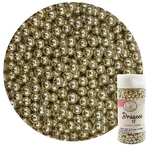 CK Products Gold 5mm Dragee 3.7oz