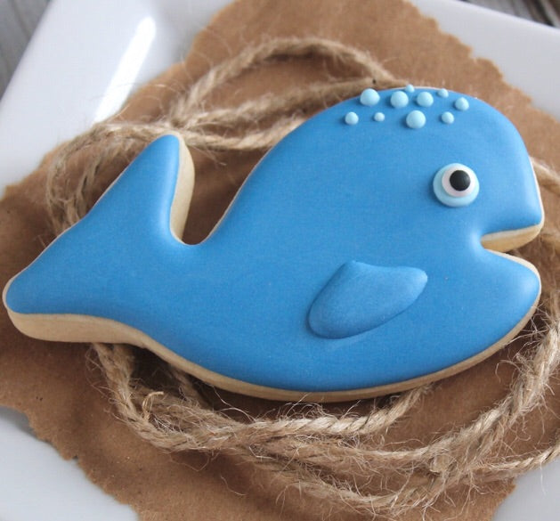 Cute Whale Cookie Cutter