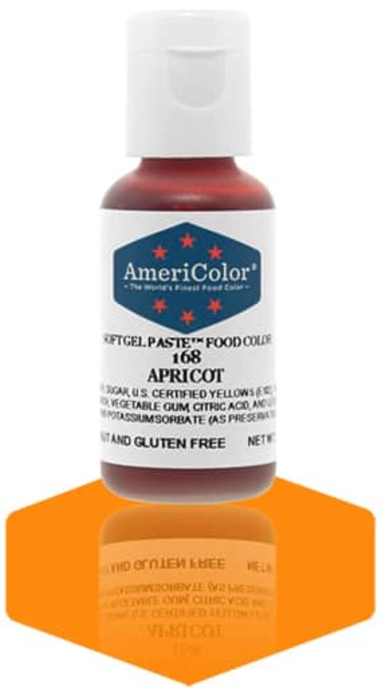 168-Apricot Americolor Softgel Food Color