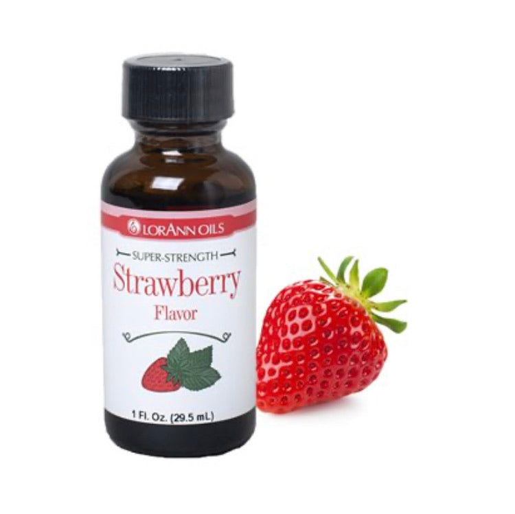 LorAnn 1oz Strawberry Super Strength Flavor