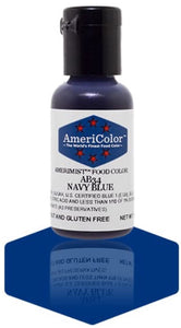 AB34-Navy Blue Americolor Amerimist Food Color