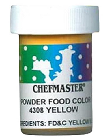 Yellow Chefmaster Powder Food Color
