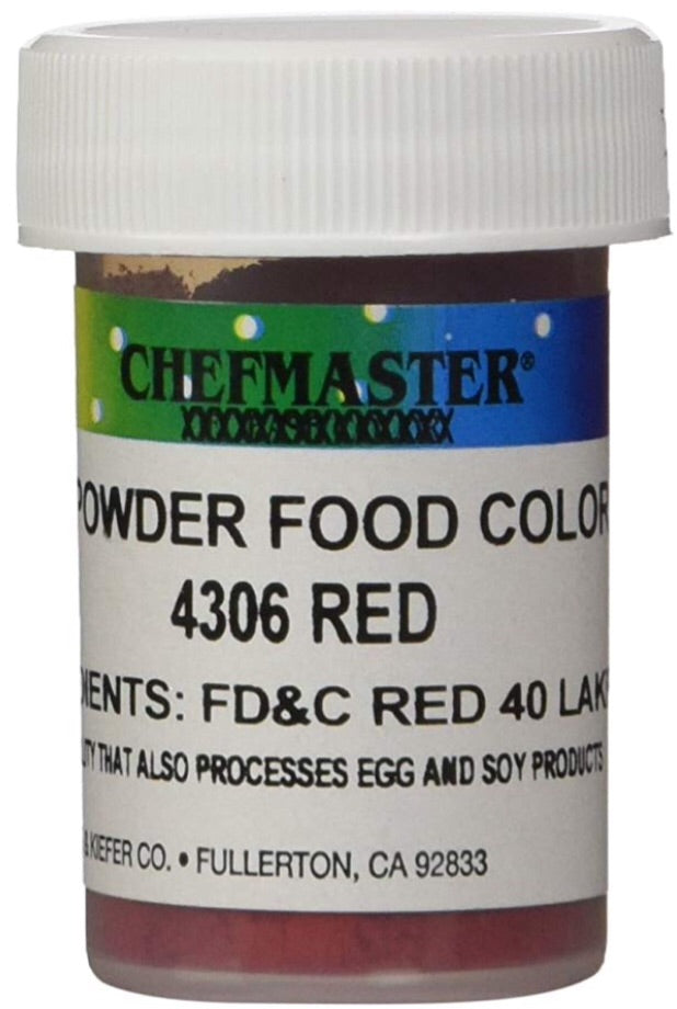 Red Chefmaster Powder Food Color