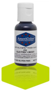 162-Electric Green Americolor Softgel Food Color