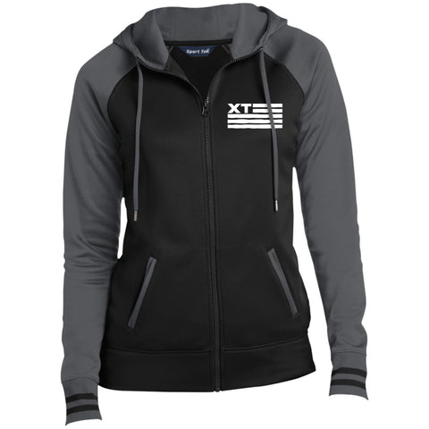 Xtreme Teez (XT Flag) Women's Full-Zip Hooded Jacket