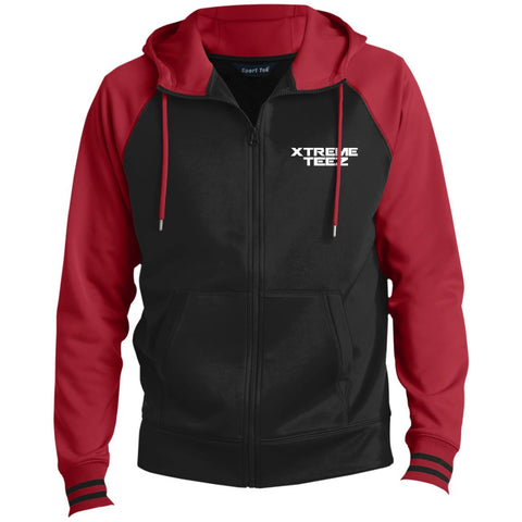 Xtreme Teez (Logo) Men's Full-Zip Hooded Jacket