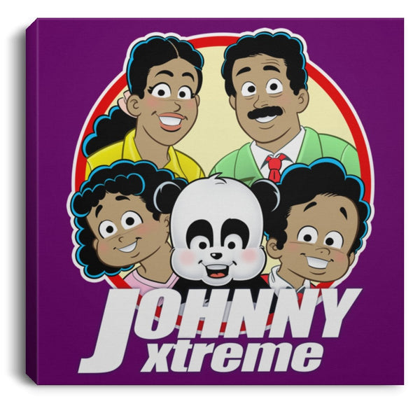 Johnny Xtreme (Family) 0.75 Inch Square Canvas - XtremeTeez