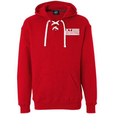 Xtreme Teez (XT Flag) Adult Lace Hoodie