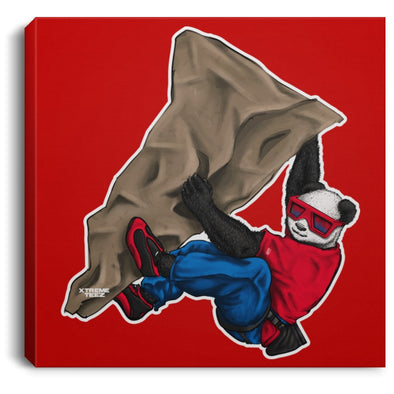 Johnny Xtreme (Rock Climbing) 0.75 Inch Square Canvas - XtremeTeez