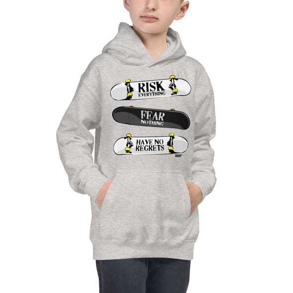 Skateboarding (Triple Decks) Children's Hoodie